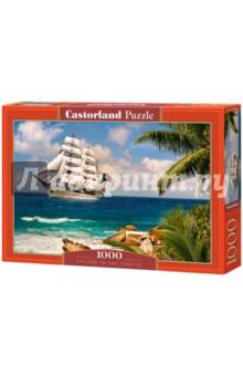 Купить Puzzle-1000 Парусник в тропиках (C-103430) ISBN: 5904438103430