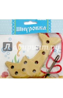Купить Шнуровка деревянная Дельфин (611-2) ISBN: 4607057563142