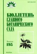 Виноградова, Петухова, Парахина: Бюллетень главного ботанического сада. Выпуск 195