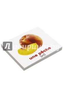Комплект карточек Мини-20 Les fruits et les legumes. Фрукты и овощи - Носова, Епанова