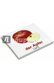 Комплект карточек Мини-20 Obst und Gemuse / Фрукты (немецкий язык) - Носова, Епанова