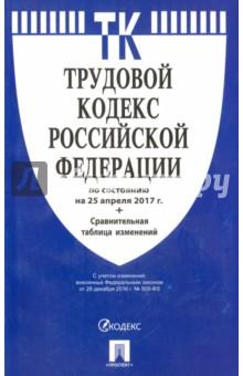 Купить Трудовой кодекс РФ на 25.04.17 ISBN: 978-5-392-24647-2