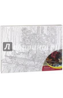 Купить Холст для рисования по номерам, 30х40 см НАТЮРМОРТ СО СКРИПКОЙ, с красками (Х-5794) ISBN: 466-5-299-65794-4