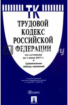 Купить Трудовой кодекс РФ на 01.06.17 ISBN: 978-5-392-26048-5