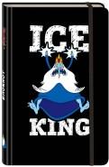 """Блокнот """"Снежный король"""", А5 (с резинкой) обложка книги"""