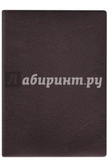 Купить Ежедневник недатированный 160 листов, А6+, НАППА КОРИЧНЕВЫЙ (45271) ISBN: 4606008375049