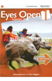 Eyes Open. Level 1. Workbook with Online Practice - Anderson, Higgins