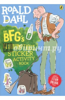 The BFG's. Gloriumptious. Sticker Activity Book - Roald Dahl