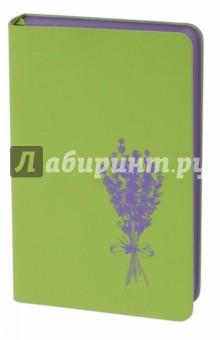 Купить Ежедневник недатированный Софт-тач. Салатовый (96 листов, А6) (45309) ISBN: 4606008375421