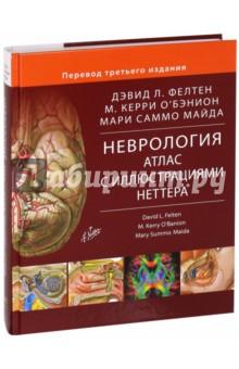Неврология. Атлас с иллюстрациями Неттера - Фелтен, О`Бэнион, Майда