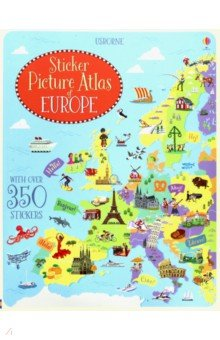 Sticker Picture Atlas of Europe - Jonathan Melmoth