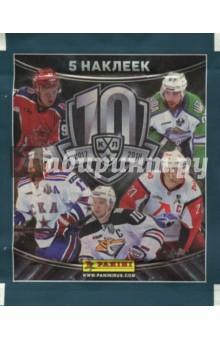 Наклейки КХЛ СЕЗОН 2017-18 (штучно, 1 пакетик)