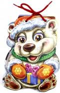 Ринат Курмашев - С Новым годом. Белый медвежонок обложка книги