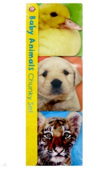 Chunky Set. Baby Animals (3 Board Books) - Roger Priddy