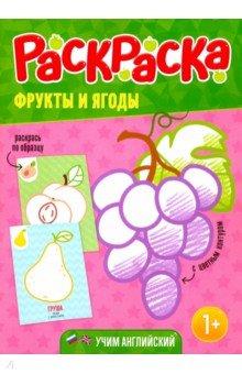 """Книга: """"Раскраска для малышей """"Фрукты и ягоды"""""""". Купить ..."""