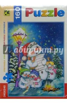 Step Puzzle-160 72027 Рождественская песенка