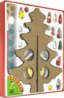 """""""Новогодняя елочка-раскраска с игрушками (ВВ3732)"""" купить ..."""