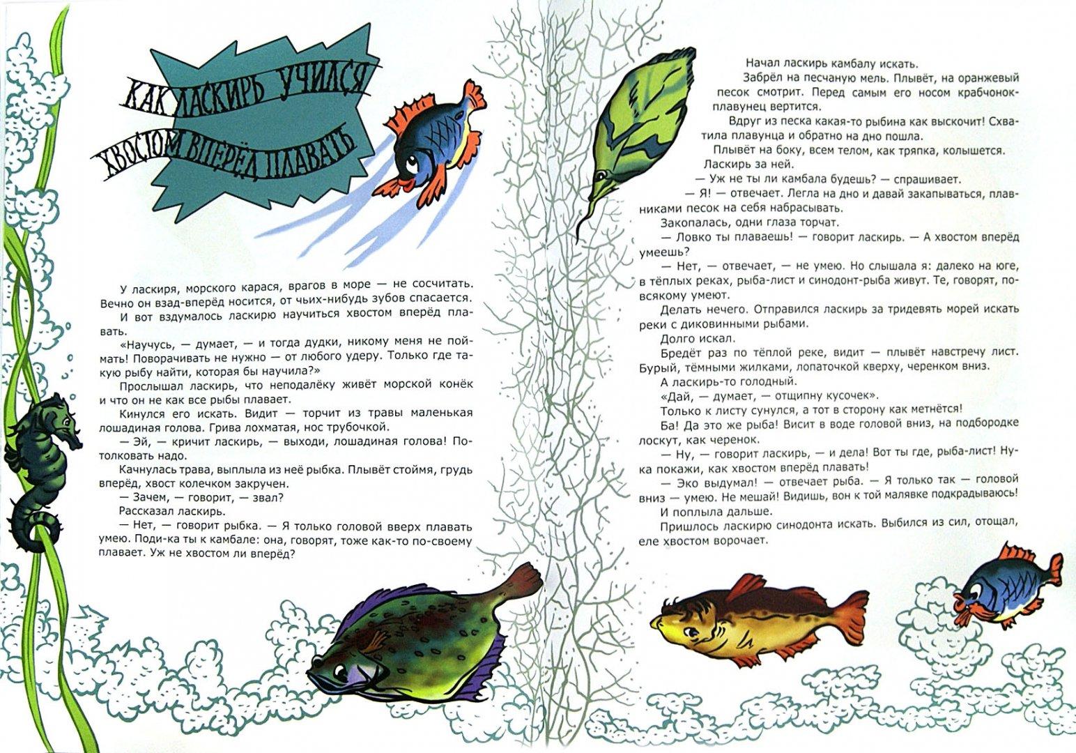 Иллюстрация 1 из 51 для Морские сказки - Святослав Сахарнов   Лабиринт - книги. Источник: Лабиринт