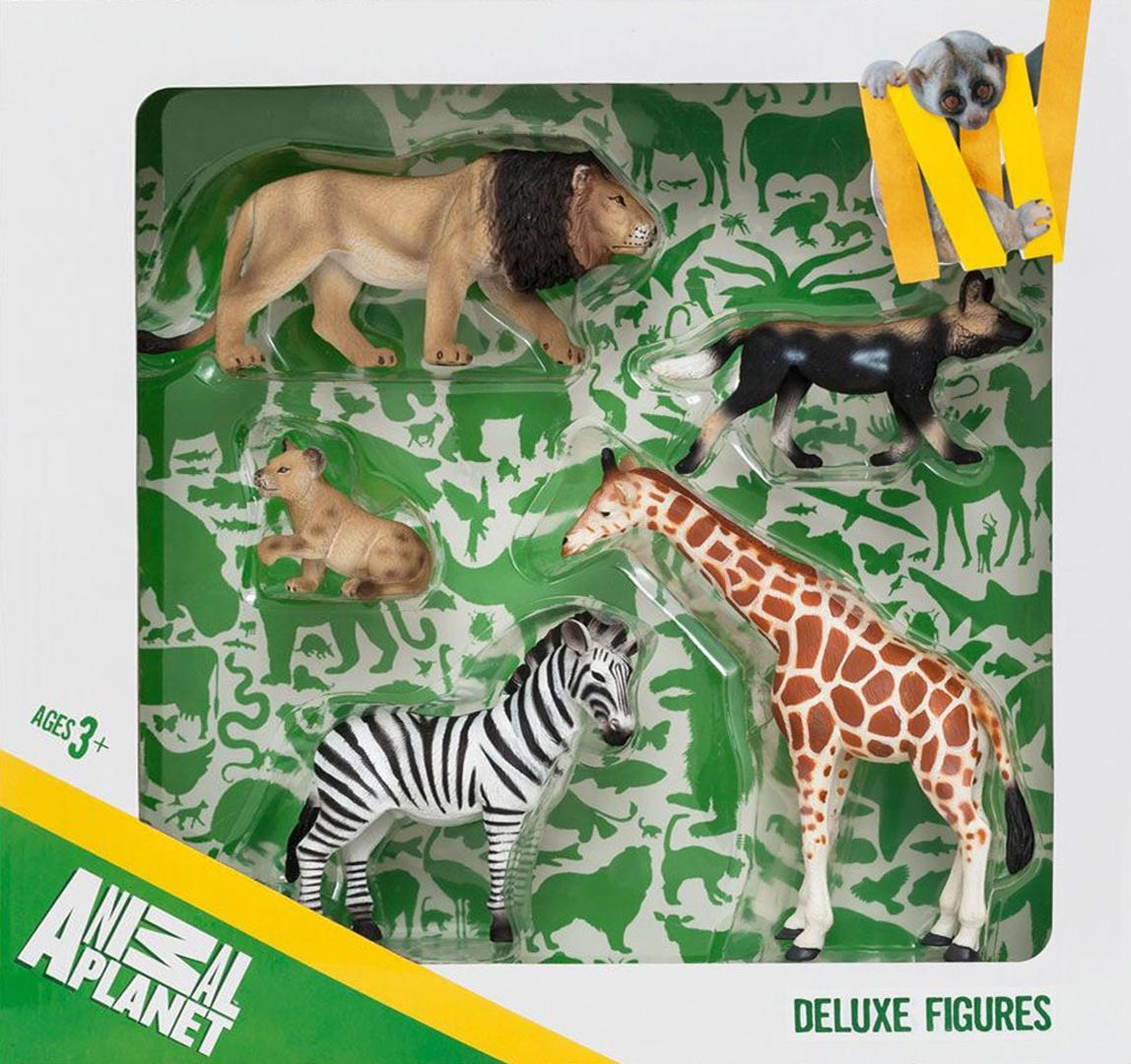 Иллюстрация 1 из 6 для Набор игровых фигур Animal Planet  (5 штук, Дикие животные) (387302) | Лабиринт - игрушки. Источник: Лабиринт