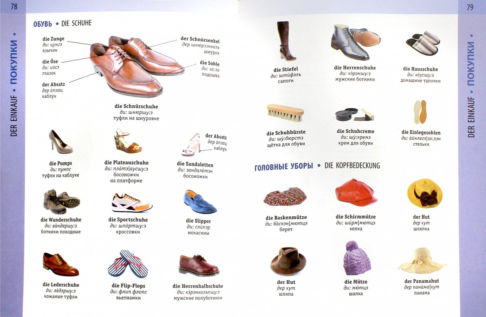 которые перевод картинок на обувь самых