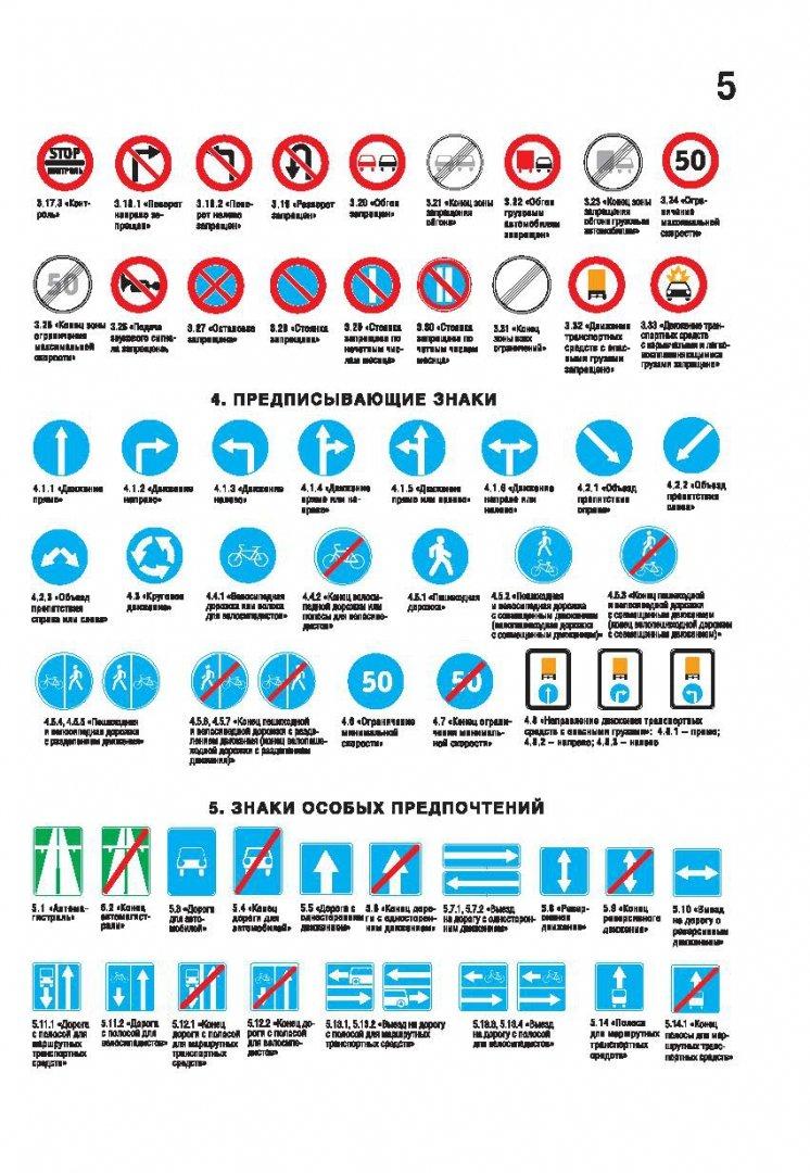Дорожные знаки для водителей в картинках предписывающие