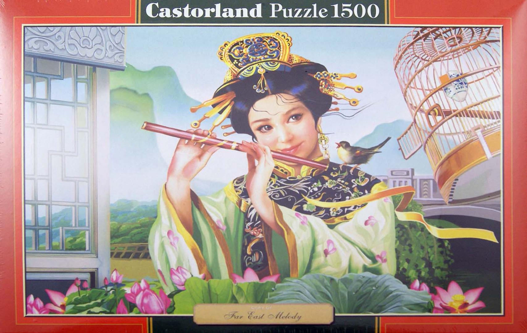 """Иллюстрация 1 из 2 для Puzzle 1500 элементов, """"Мелодия"""" (C-151035)   Лабиринт - игрушки. Источник: Лабиринт"""