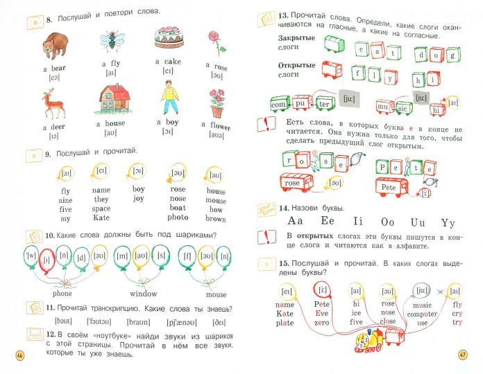 Английский язык 2 класс вербицкая cd диск