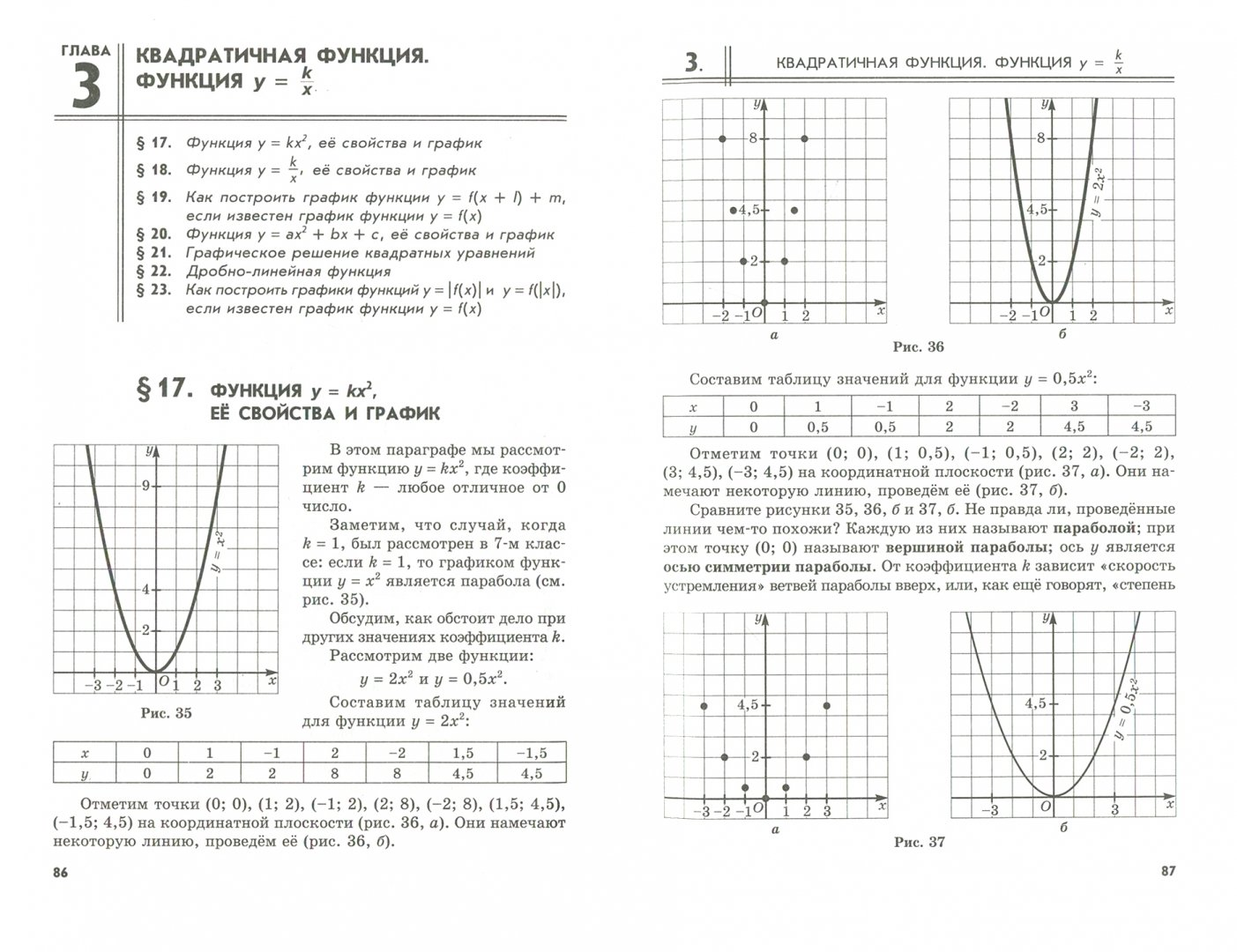 Иллюстрация 1 из 20 для Алгебра. 8 класс. Учебник. Углубленный уровень. В 2-х частях. ФГОС - Мордкович, Николаев | Лабиринт - книги. Источник: Лабиринт