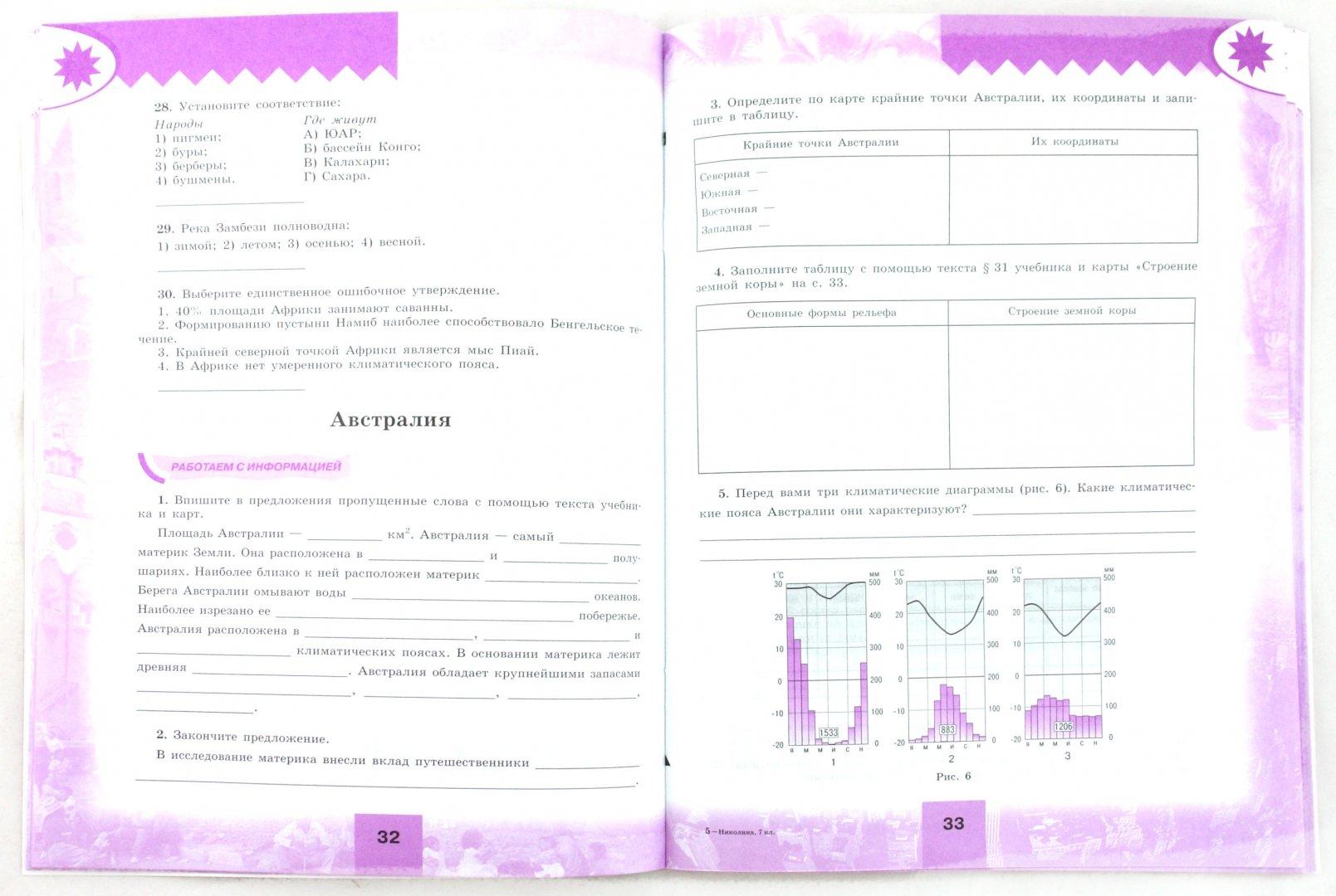 Иллюстрация 1 из 19 для География. 7 класс. Мой тренажер. Учебное пособие - Вера Николина | Лабиринт - книги. Источник: Лабиринт
