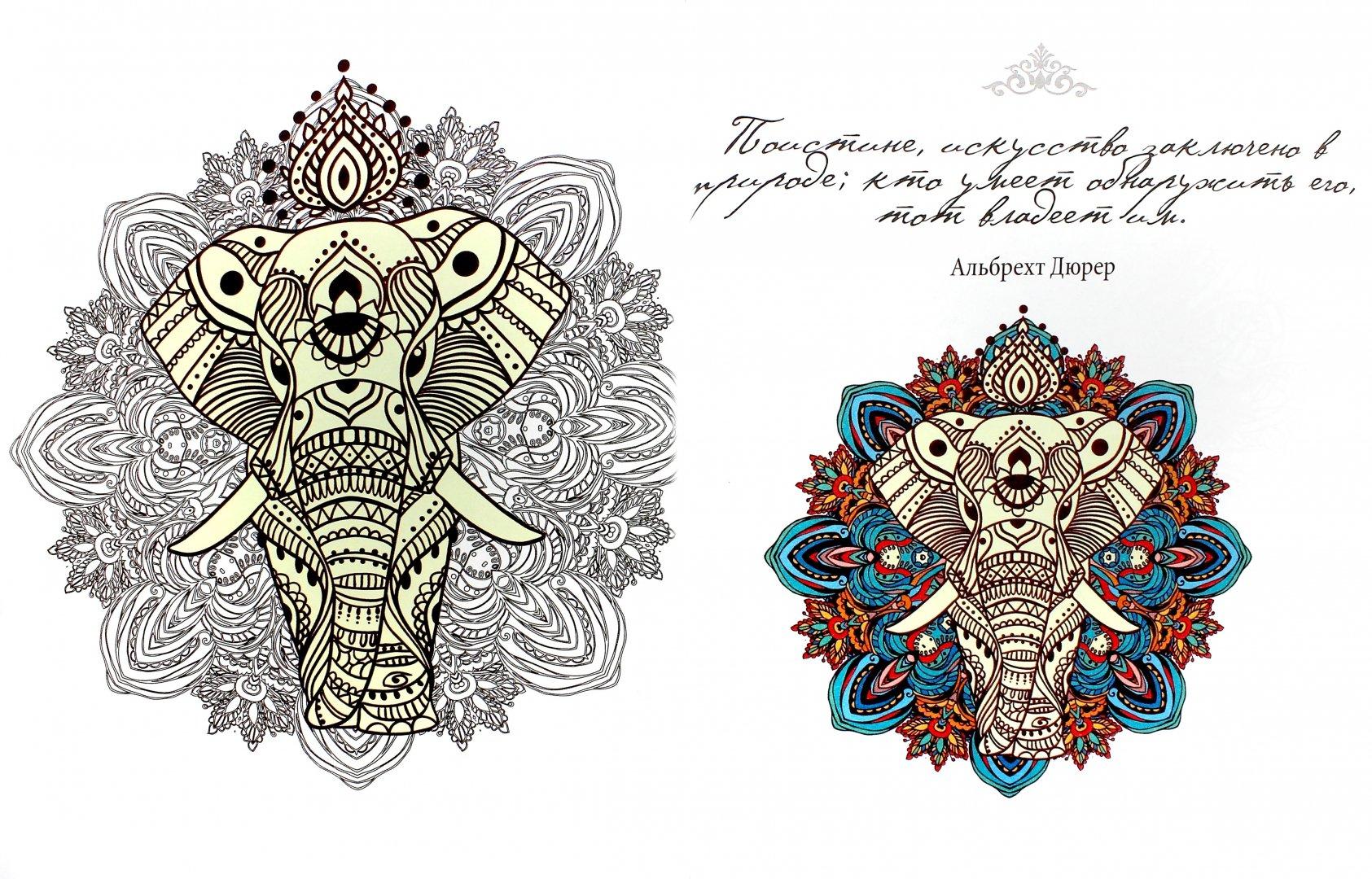 Иллюстрация 1 из 8 для Зендудлы. Рисуем мандалы ...