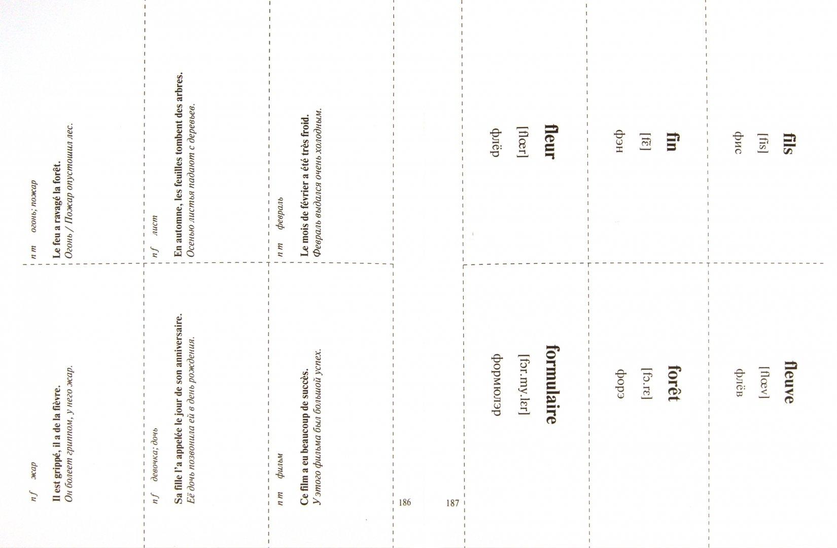 Иллюстрация 1 из 5 для Французский язык на карточках. 1100 самых нужных слов. Перевод, транскрипция, примеры... - Наталья Путилина   Лабиринт - книги. Источник: Лабиринт