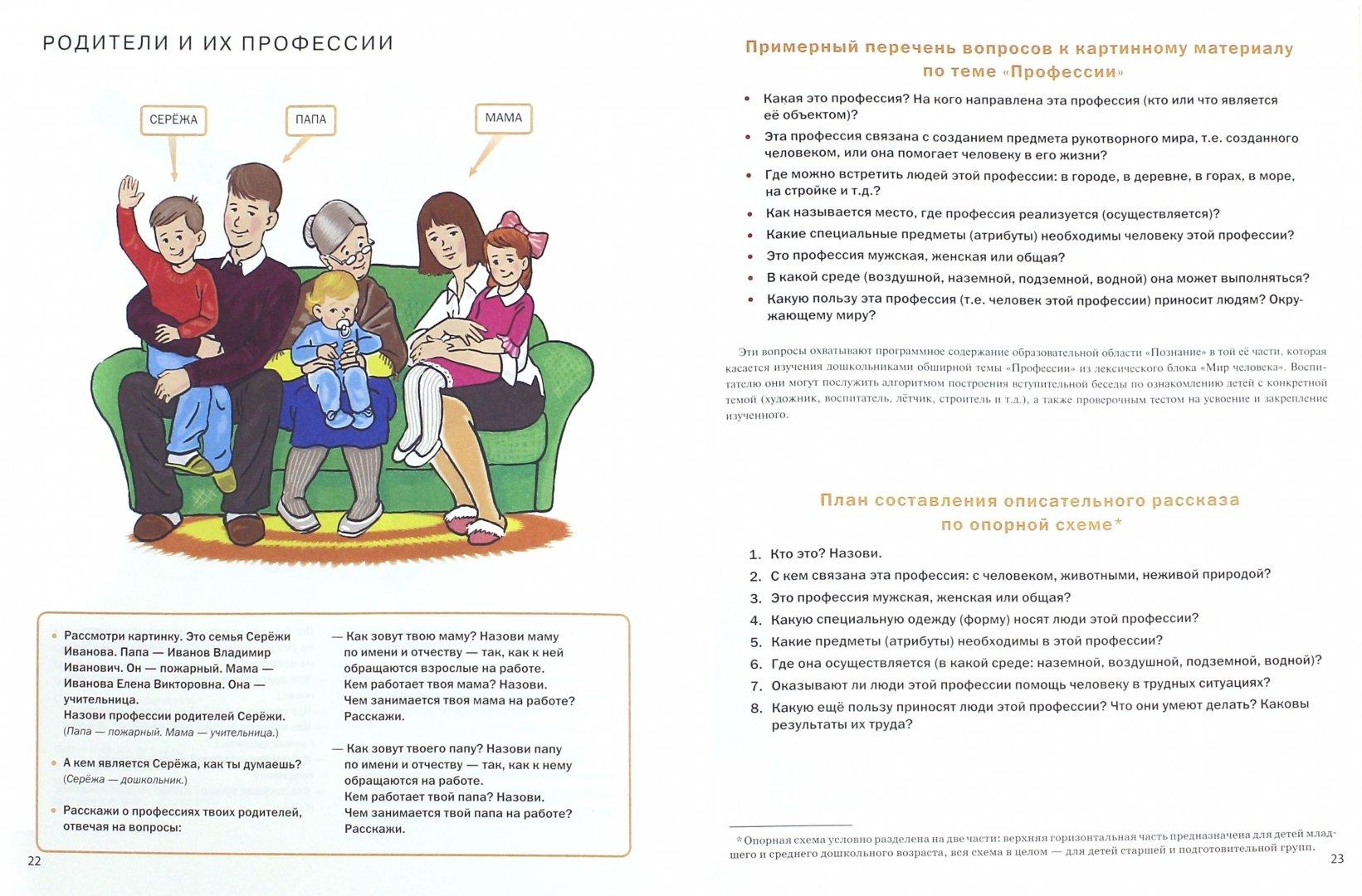 Иллюстрация 1 из 24 для Тематический словарь в картинках. Мир человека. Профессии | Лабиринт - книги. Источник: Лабиринт