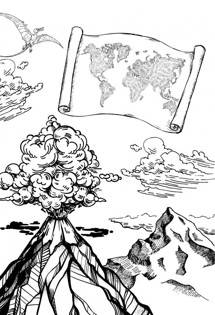 иллюстрации к книге путешествие к центру земли категория огранки применима