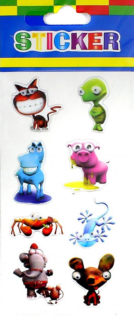 """Иллюстрация 1 из 2 для Наклейки детские """"Eyes Sticker"""" (в ассортименте)   Лабиринт - игрушки. Источник: Лабиринт"""