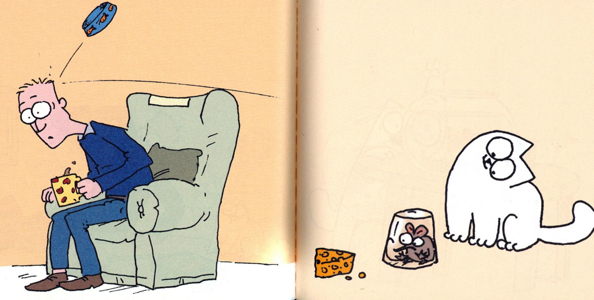Иллюстрация 1 из 12 для Кот Саймона. Покорми меня! (мини) - Саймон Тофилд   Лабиринт - книги. Источник: Лабиринт