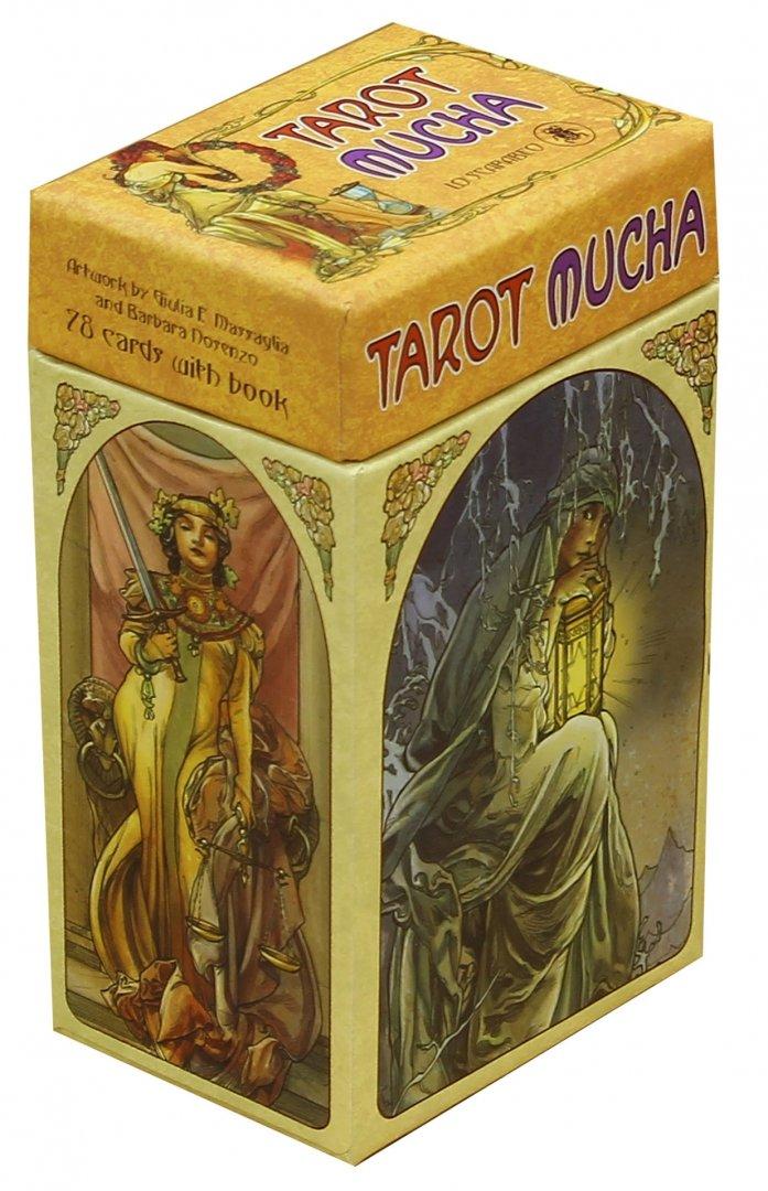 Иллюстрация 1 из 34 для Таро Альфонса Мухи (буклет + 78 карт)   Лабиринт - книги. Источник: Лабиринт