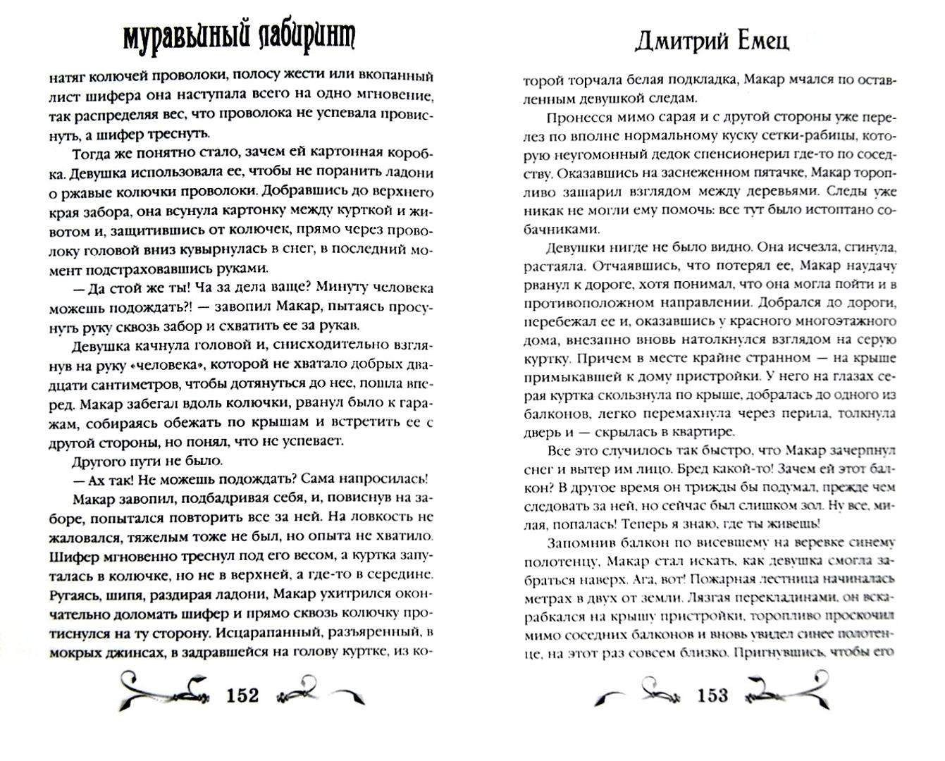 Иллюстрация 1 из 14 для Муравьиный лабиринт - Дмитрий Емец   Лабиринт - книги. Источник: Лабиринт