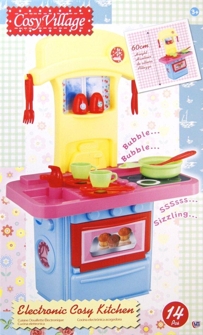 Иллюстрация 1 из 7 для Маленькая электронная кухня + 14 аксессуаров (1680376.00) | Лабиринт - игрушки. Источник: Лабиринт
