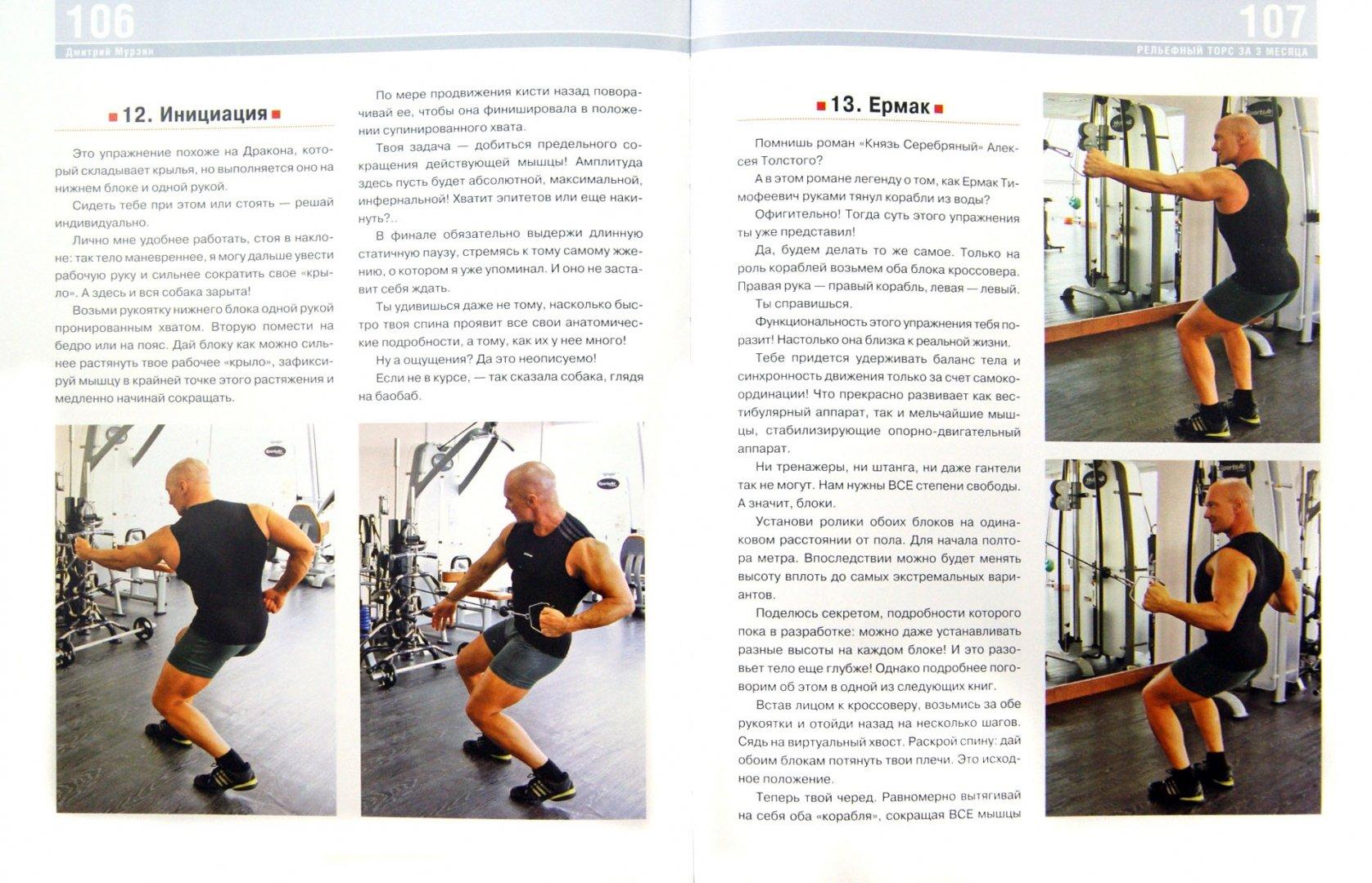 Иллюстрация 1 из 9 для Рельефный торс за 3 месяца. Комплекс самых эффективных упражнений - Дмитрий Мурзин | Лабиринт - книги. Источник: Лабиринт