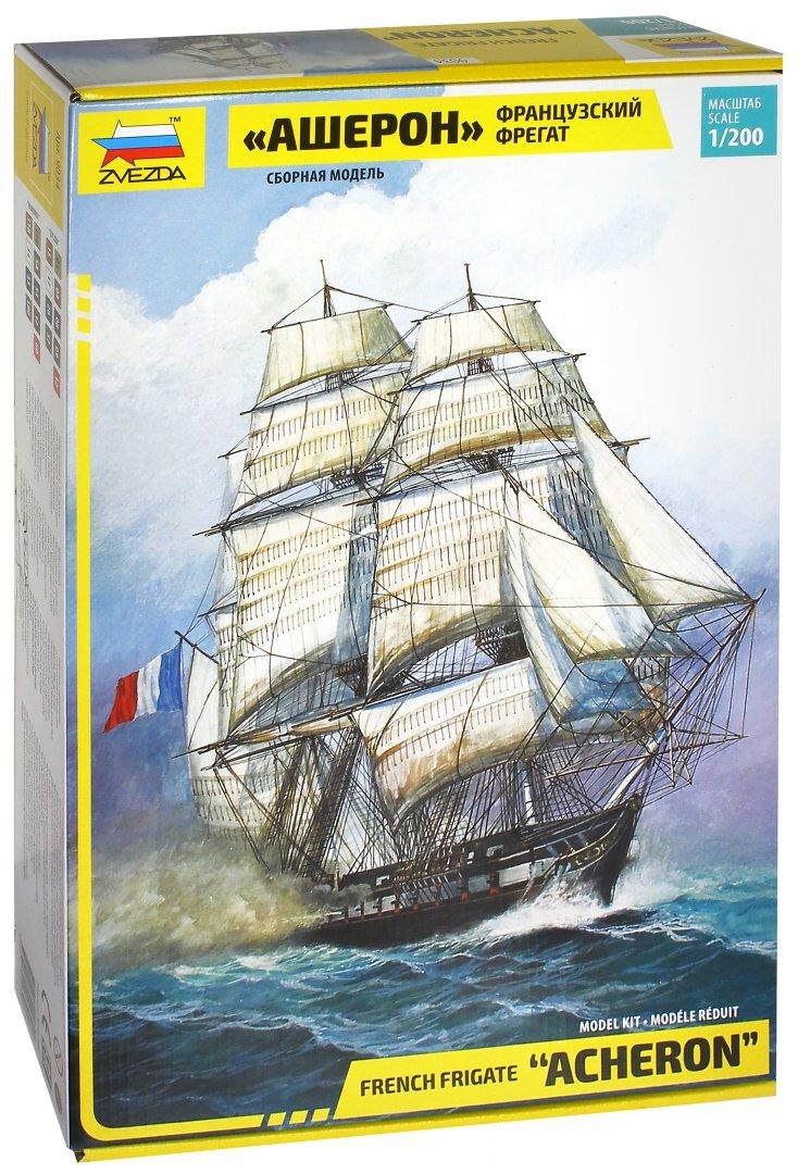 """Иллюстрация 1 из 7 для Французский фрегат """"Ашерон"""" (9034)   Лабиринт - игрушки. Источник: Лабиринт"""