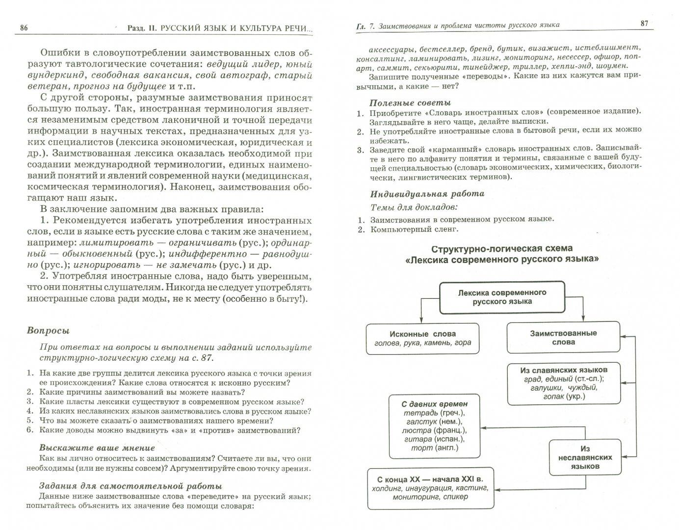 Иллюстрация 1 из 9 для Русский язык и культура речи - Баландина, Давидян, Кураченкова, Симонова | Лабиринт - книги. Источник: Лабиринт