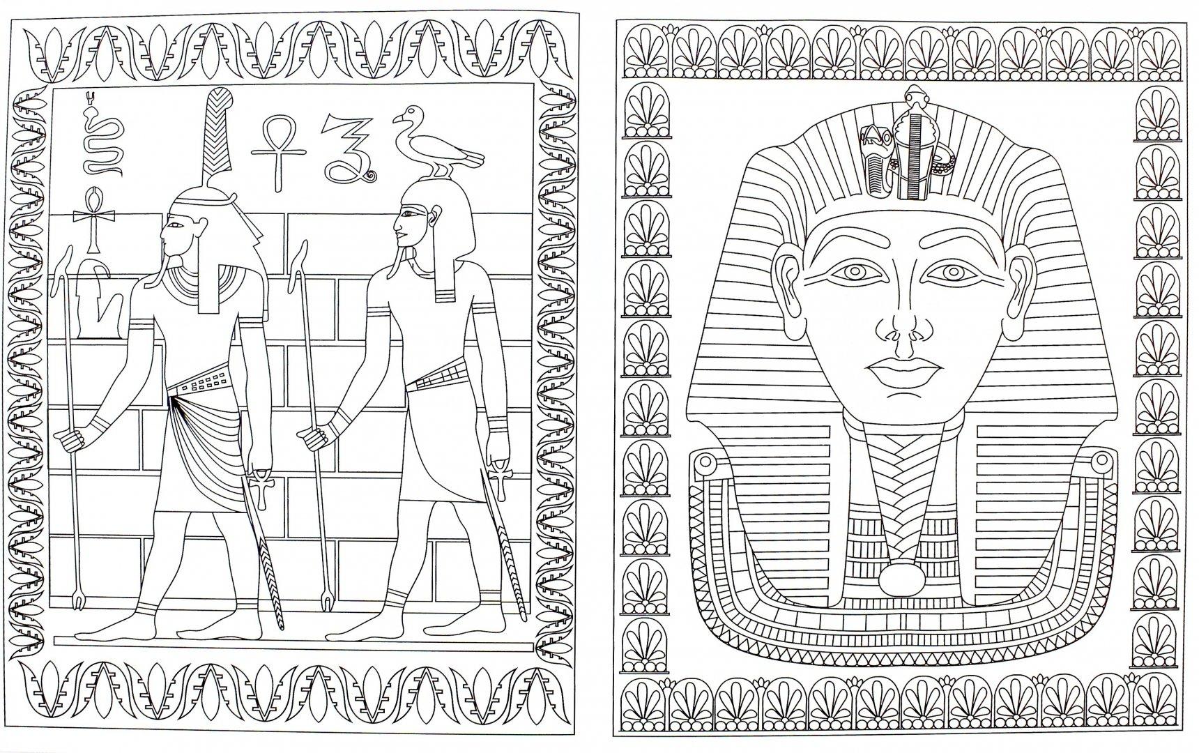 Египет рисунки картинки