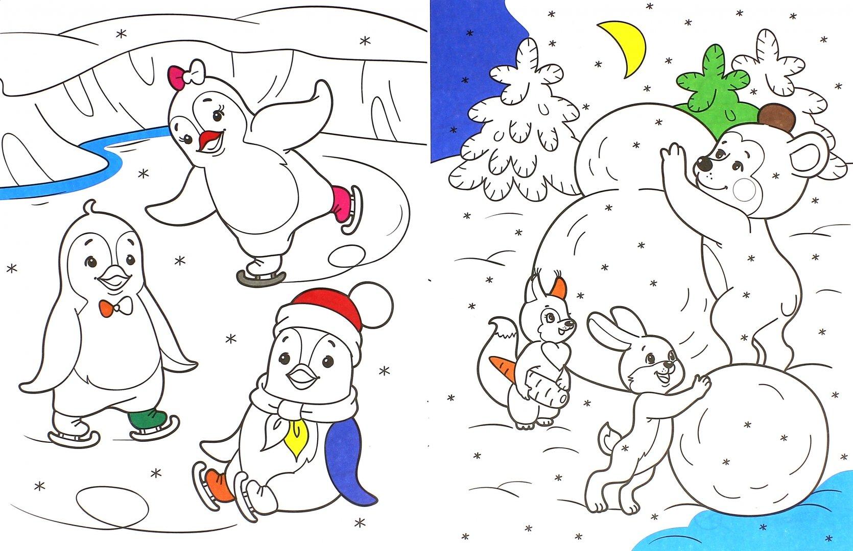 Картинки для срисовки по теме новый год