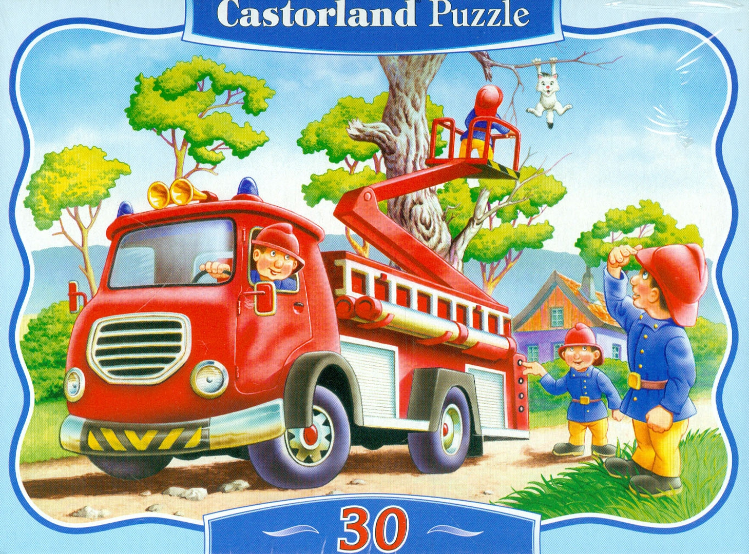"""Иллюстрация 1 из 9 для Puzzle-30 MIDI """"Спасение котенка"""" (В-03174)   Лабиринт - игрушки. Источник: Лабиринт"""
