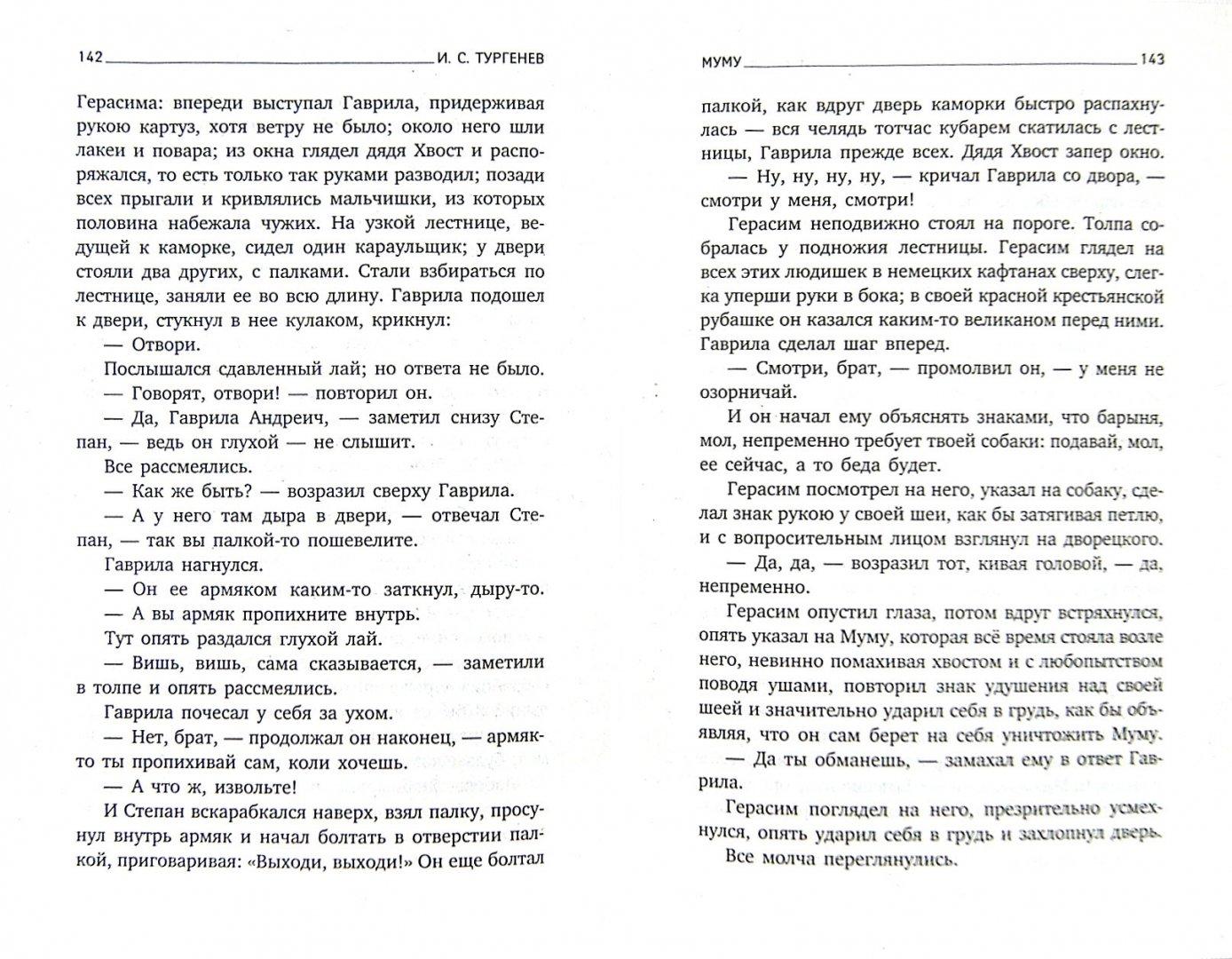 Иллюстрация 1 из 6 для Муму. Избранное - Иван Тургенев | Лабиринт - книги. Источник: Лабиринт