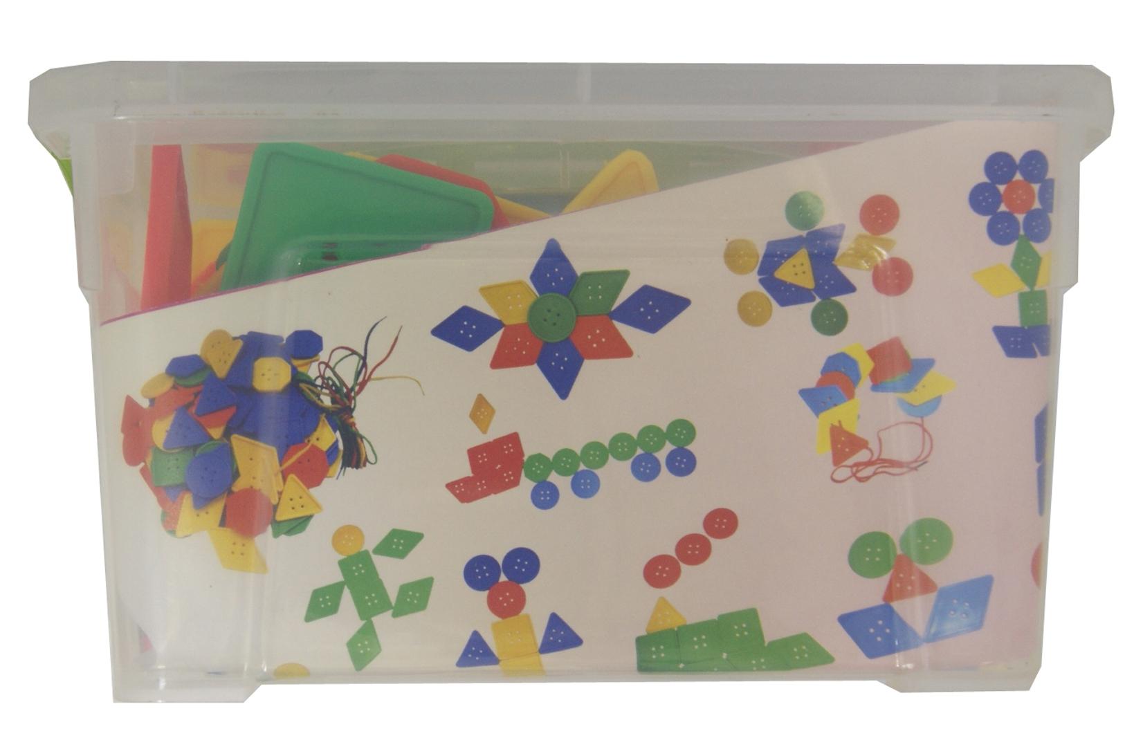 Иллюстрация 1 из 3 для Пуговки. Контейнер   Лабиринт - игрушки. Источник: Лабиринт