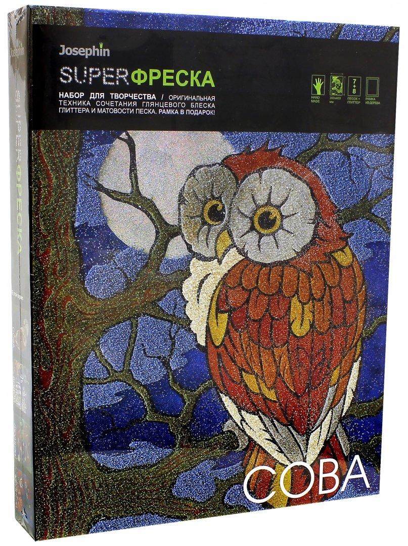 Иллюстрация 1 из 11 для Супер фреска Сова (427104)   Лабиринт - игрушки. Источник: Лабиринт