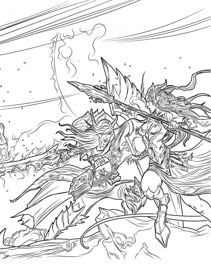 Иллюстрация 4 из 46 для World of Warcraft. Книга для ...