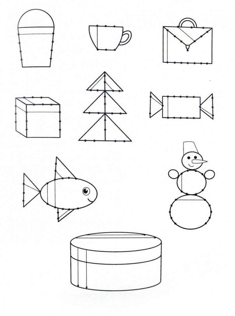 Иллюстрация 1 из 2 для Обводим и штрихуем. Прописи с прозрачными страницами. 3-5 лет - Олеся Жукова   Лабиринт - книги. Источник: Лабиринт