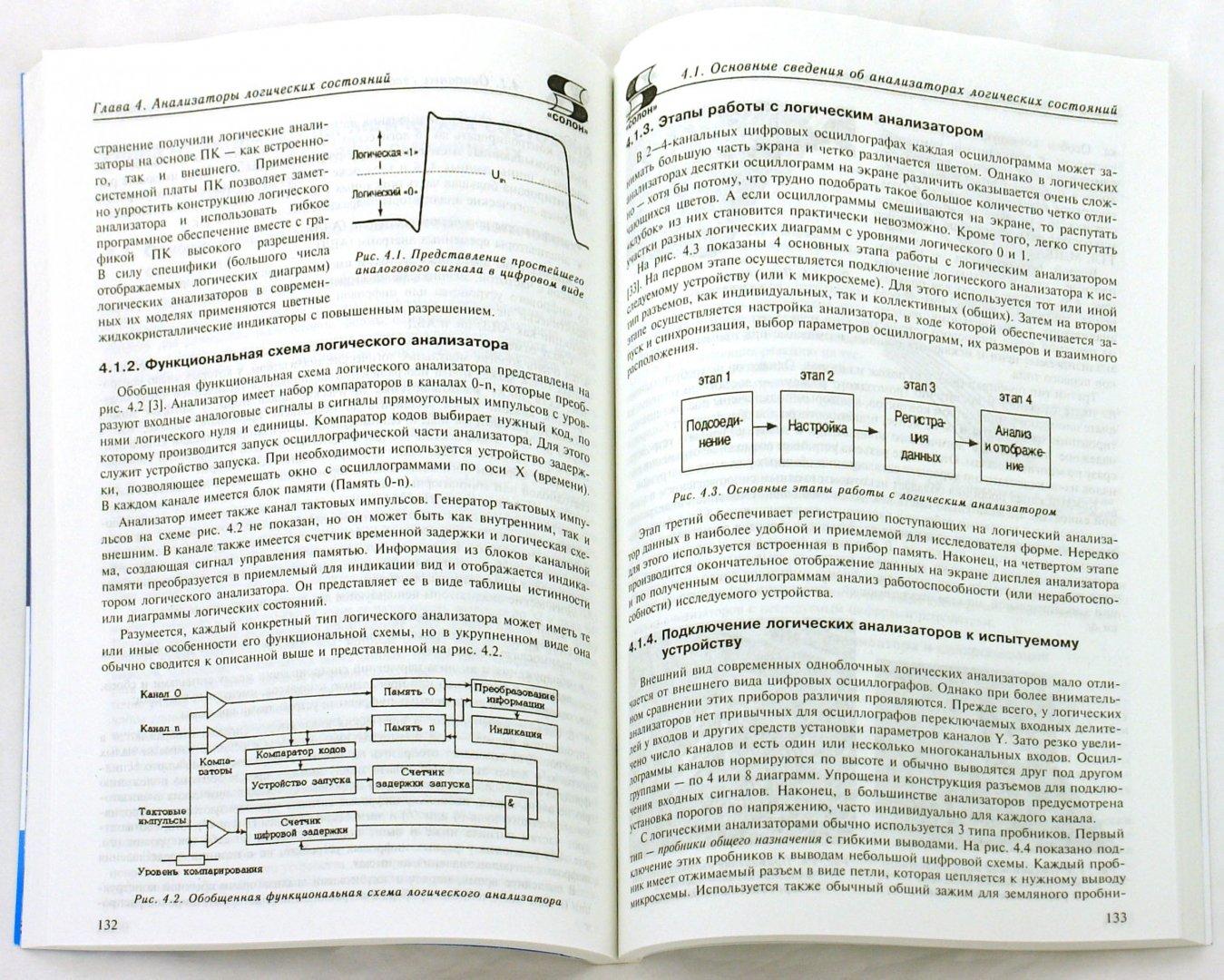 Иллюстрация 1 из 18 для Цифровые анализаторы спектра, сигналов и логики - Афонский, Дьяконов   Лабиринт - книги. Источник: Лабиринт